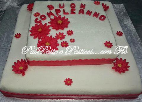 Le Mie Torte Decorate Paste E Pasticci Con Flo