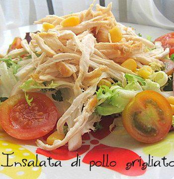 insalata di pollo grigliato
