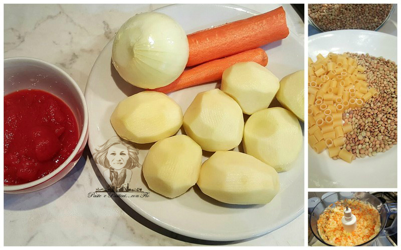 pasta e lenticchie
