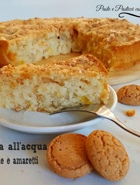 torta_all'acqua_mele_e_amaretti