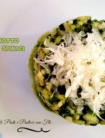 ricetta riso con spinaci